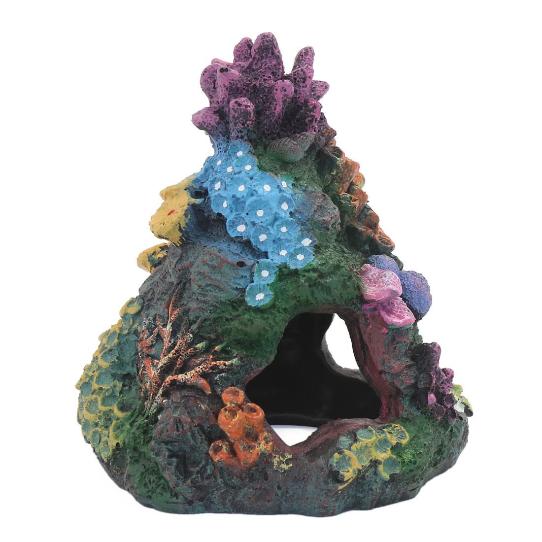 Paysage aquatique Rocaille artificielle Betta Bois Décoration d'aquarium 3