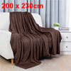 Queen Size Home Bedroom Bed Sofa Warm Plush Couch Throws Blanket ...
