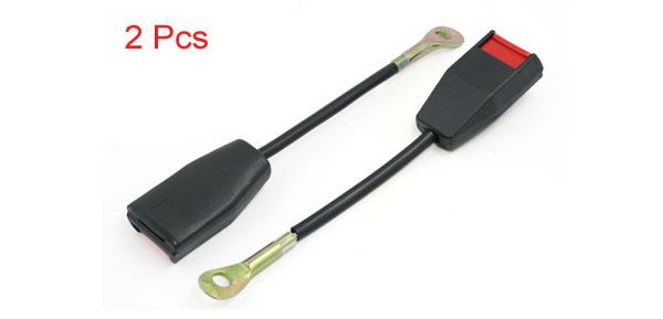 Absopro 2 Pcs Universal Car Safety Seat Belt Insert Clip Buckle Extender Extension