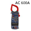 DT9250 AC 600A Clamp Meter Multimeter Resistance Continuity Volta...