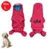 Pet Dog Cotton Blend Short Sleeves Hoodie Apparel ...