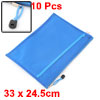 Office School Nylon Double Layer Zippered A4 Size ...