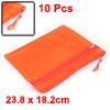 Office School Zippered Water Resistance A5 Size Pa...