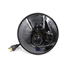"F FIERCE CYCLE 7"" Motorcycle LED Projector Headlight Bulb For Harley Davidson Jeep Wrangler"