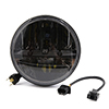 "7"" Motorcycle Car LED Headlight Hi/Lo Beam For Harley Davidson Jeep Wrangler"