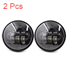 "2pcs 4.5"" Motorcycle LED Auxiliary Passing Headlight For Harley Heritage Softail"
