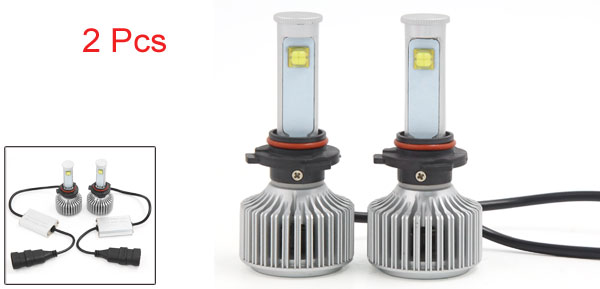 X Autohaux 80W 9006 LED Headlight Kit 6000K 7200LM ETI LED Bulbs for Headlight Replacement (Set of 2)