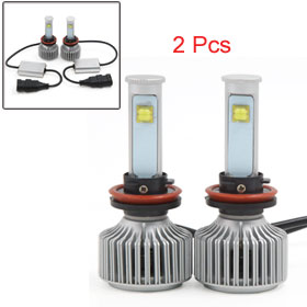 X Autohaux 80W H11 LED Headlight Kit 6000K 7200LM ETI LED Bulbs f...
