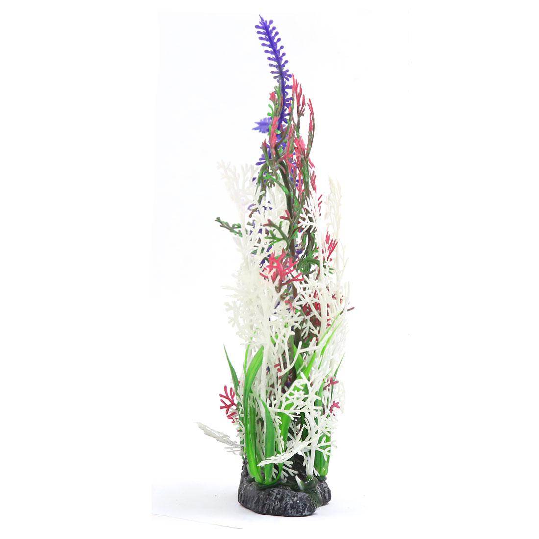 Multi-couleur Plante en plastique Paysage aquatique Décoration d'aquarium 2