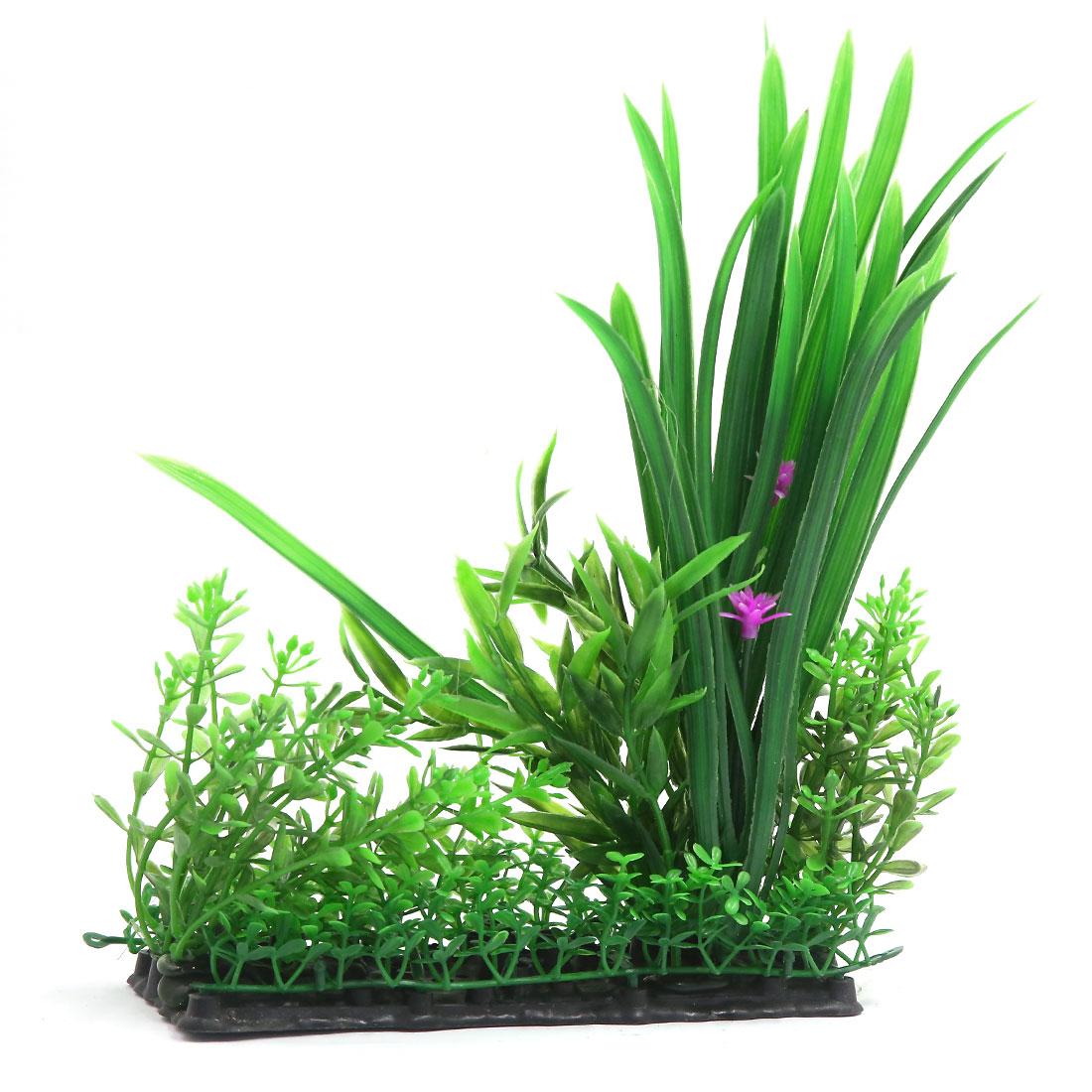 Vert Plante en plastique Décor d'aquarium pour Betta Poisson rouge