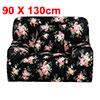 PiccoCasa Rose Pattern Elastic Sofa Chair Cover Slipcover Protect...