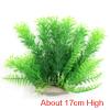 Aqua Landscape Fish Tank Plastic Plant For Betta Green 17cm High