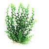 Aqua Fish Tank Decoration Green Plastic Plant Landscape for Betta...