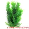 27cm  Landscape Fish Tank Green Decoration Plastic Plant