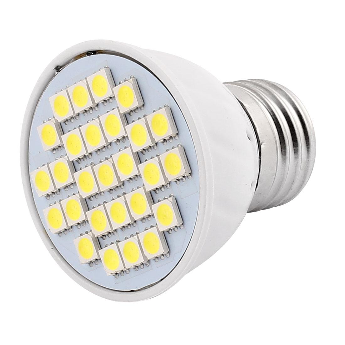 220V-240V-4W-E27-5050-SMD-27-LEDs-LED-Light-Spotlight-Lamp-Energy-Saving-White