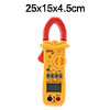 Digital LCD Clamp Multimeter OHM  Volt Meter AC/DC Present Resist...