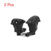 2 Pcs Black Plastic Front Windshield Washer Spraye...