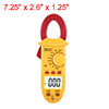 Mini Digital Multimeter Ammeter ACV DCV Ohm Clamp Meter Tester Ha...