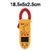 Mini Digital Multimeter Ammeter ACV DCV Resistance Clamp Meter Ha...