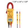 Mini Multimeter AC DC Ammeter Voltage ACV DCV Capacitance Clamp M...