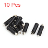 10Pcs 2 Pins Motorcycle Scooter Front Rear Brake S...