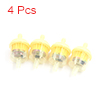 4Pcs Universal Motorcycle Scooter Gasoline Fuel Fi...
