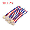 10Pcs 12cm Cable Connector for Motorcycle Headligh...