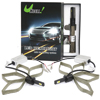 2*30W H1 LED Headlight Kit White 6000K 6400LM COB ...