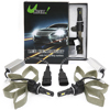 2*30W 9006 LED Headlight Kit White 6000K 6400LM CO...