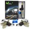 2*36W 9004 LED Headlight Kit White 6000K 8000LM CO...
