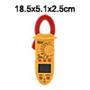 DM6268D Mini Digital Multimeter Ammeter Voltage ACV DCV Ohm Clamp...