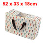 Home Dog Pattern Fabric Collect Carrying Zippered ...