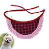 Dog Pet Strap Adjustable Striped Plaid Pattern Tri...