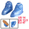 Rubber Sole Water Resistant Rain Shoes Overshoes B...