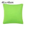 Pillow Cushion Cover Case Square European Pillowcases Green 45cm ...