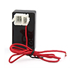 Black Plastic 8 Pin Motorcycle Wired Electronic Ig...