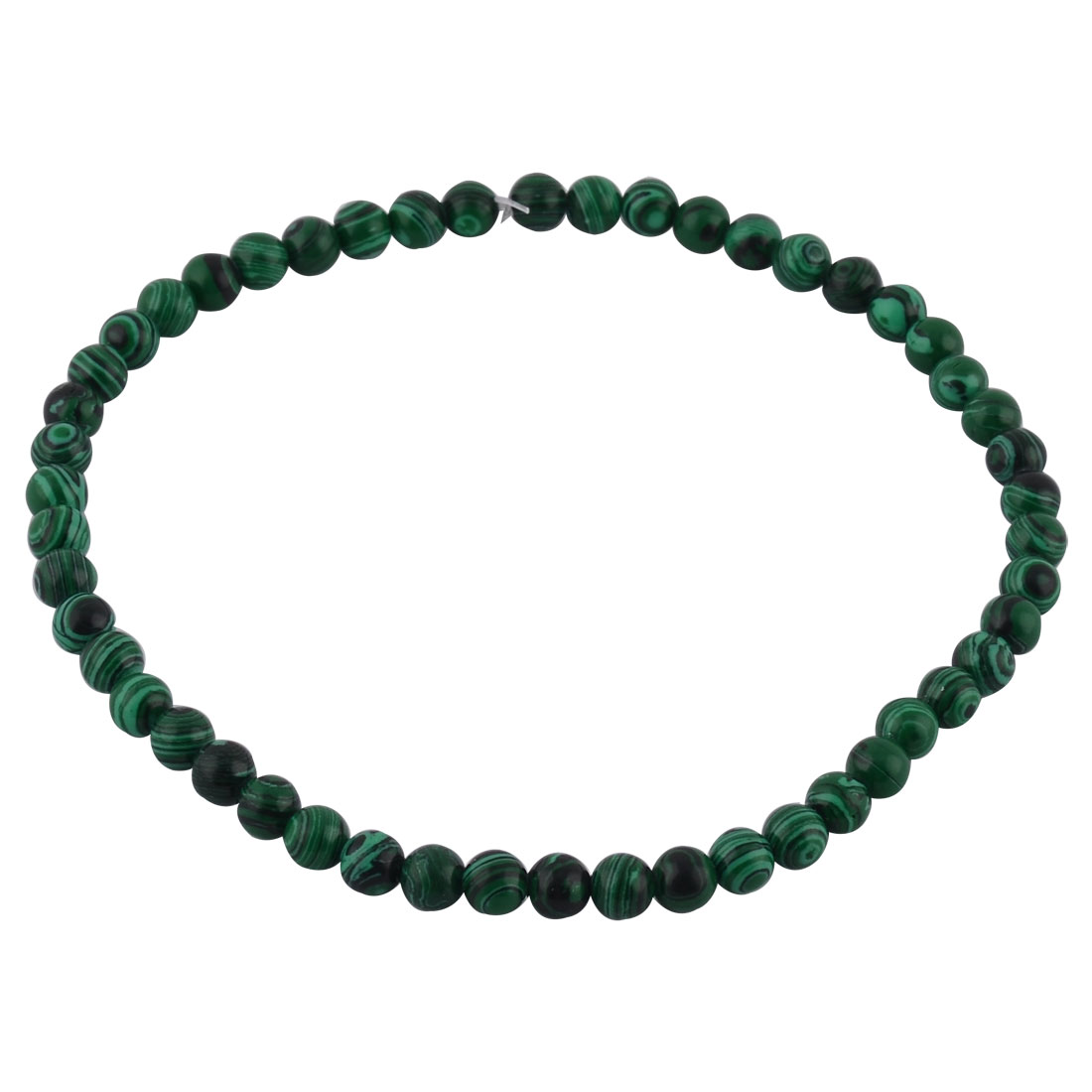 Malachite Design DIY Necklace Bracelet Beading Beads Strand 8mm Dia