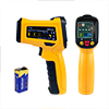 DM6530B Non-contact Digital Laser Infrared Thermometer Gun Temp Handheld Orange Black
