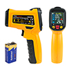 DMiotech DM6530D Non-contact Digital Laser Infrared Thermometer Gun Temp Handheld Orange Black