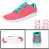 PYPE Women Contrast Color PU Panel Mesh Training Shoes Pink US 7....