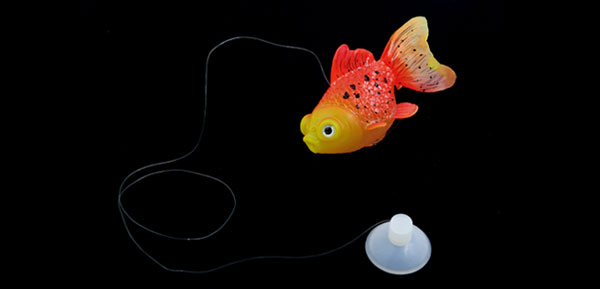Aqua Landscape 1 PCS Fish Tank Orange Red Yellow Goldfish Ornament 8cm Long