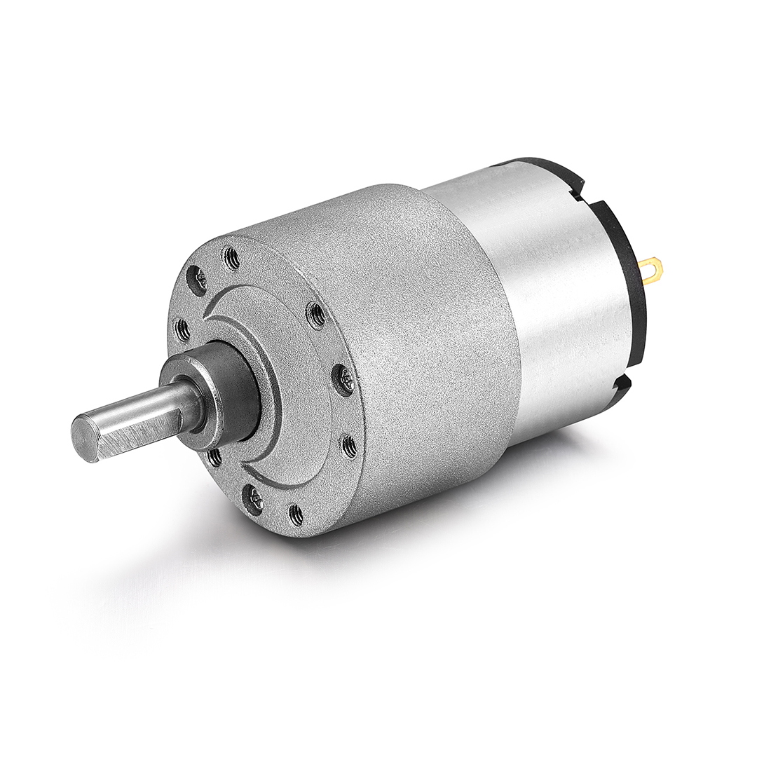 DC 12V 960RPM 6mm Diameter Shaft Electric Geared Box Speed Reduction Motor