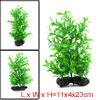 Aquarium Fish Tank Green Artificial Plants Decoration 11x4x23cm