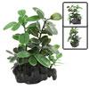 Aquarium Fish Tank Artificial Green Leaves Plants Ornament 10x3x1...