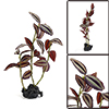 Aquarium Fish Tank Green Artificial Red Green Plants Ornament 10x...