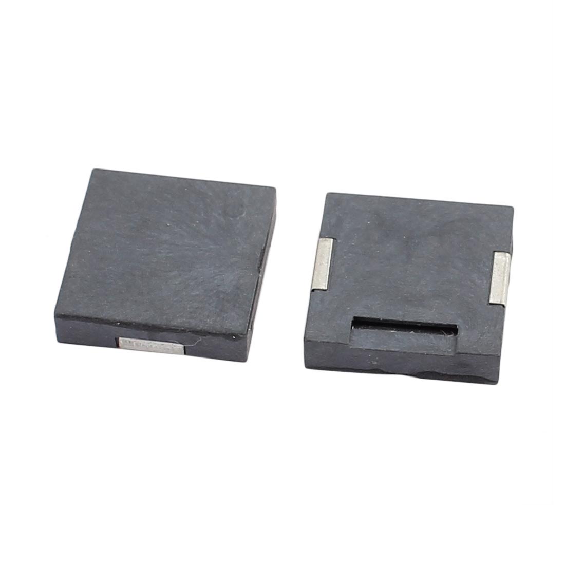 2pcs-DC-1-25V-12mm-x-12mm-x-3mm-Zumbador-SMD-pasivo-electromagnetico-negro