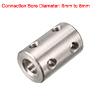 6mm to 8mm Bore C45 Steel Robot Motor Wheel Coupli...
