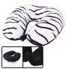 foam filled u shape zebra striped patter...