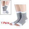 Unisex Stripes Pattern Compression Ankle Support A...
