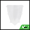 Clear ABS Plastic Motorcycle Windshield Windscreen...
